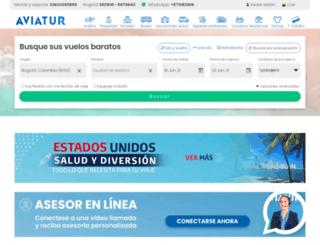 ecommprod.grupoaviatur.com screenshot