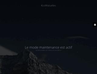 ecomutuelles.com screenshot