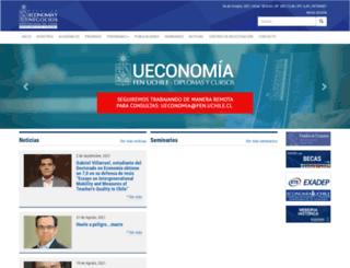 econ.uchile.cl screenshot