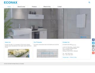 econax.com.my screenshot