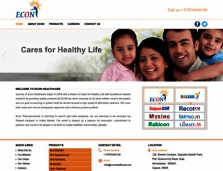 econhealthcare.net screenshot