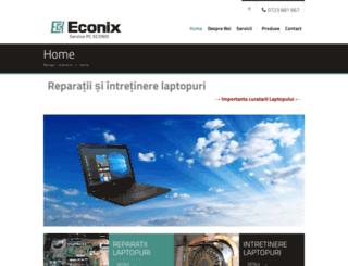 econix.ro screenshot