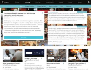 econlog.econlib.org screenshot