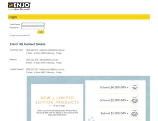 econnect.enjo.com.au screenshot