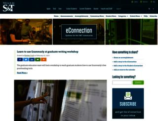 econnection.mst.edu screenshot