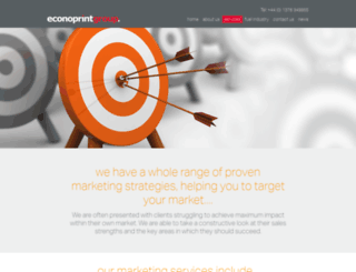 econo-marketing.co.uk screenshot