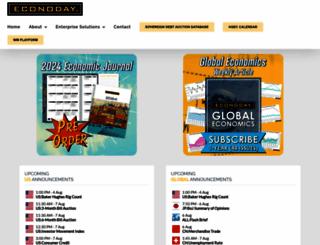 econoday.com screenshot