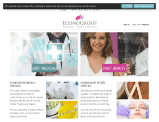 econogroup.com screenshot