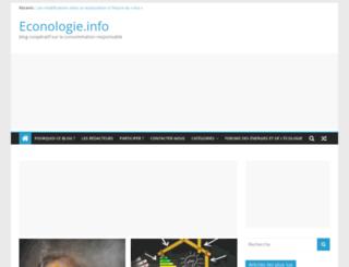 econologie.info screenshot