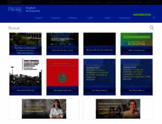 economia.uniandes.edu.co screenshot