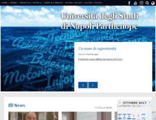 economia.uniparthenope.it screenshot