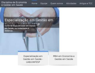 economiaemsaude.com.br screenshot