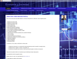 economiaysociedad-uach.blogspot.mx screenshot