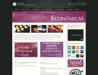 economicas.unlam.edu.ar screenshot
