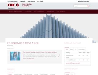 economics.cibccm.com screenshot