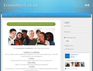 economics1.co.za screenshot