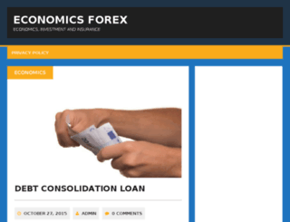 economicsforex.com screenshot