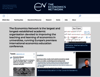 economicsnetwork.ac.uk screenshot