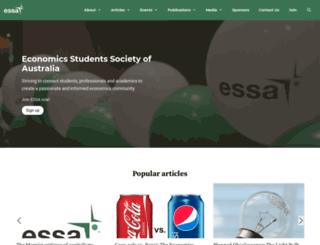 economicstudents.com screenshot