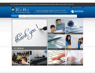economicstuition.com.sg screenshot