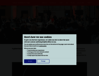 economistgroup.com screenshot