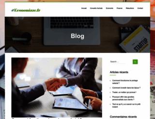 economizze.fr screenshot