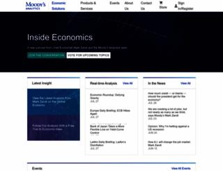 economy.com screenshot