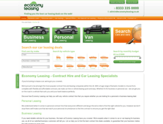 economycarleasing.co.uk screenshot