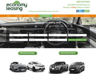 economyleasinguk.com screenshot