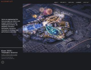 econstruct.ae screenshot