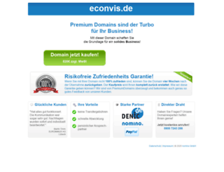 econvis.de screenshot