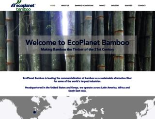 ecoplanetbamboo.com screenshot