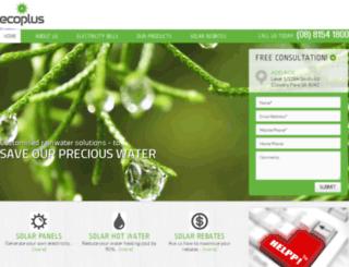 ecoplus.com.au screenshot