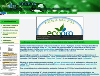 ecopra.com screenshot