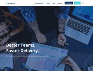 ecore.com.br screenshot