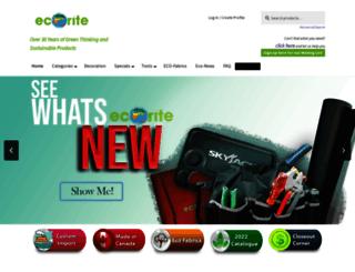 ecorite.com screenshot