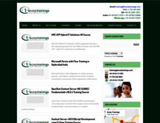 ecorptrainings.blogspot.com screenshot