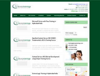 ecorptrainings.blogspot.in screenshot