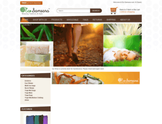 ecosamsara.com screenshot