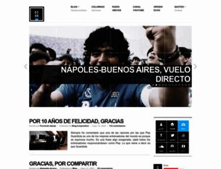 ecosdelbalon.com screenshot