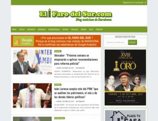 ecosdelsur.net screenshot