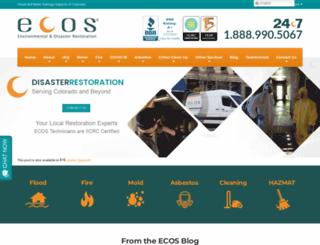 ecosenvironmental.com screenshot