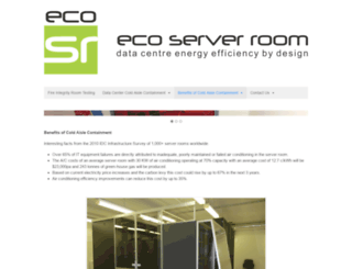 ecoserverroom.com screenshot