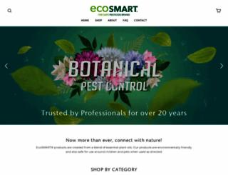 ecosmart.com screenshot