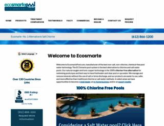 ecosmartepool.com screenshot