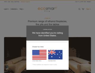 ecosmartfire.com.au screenshot