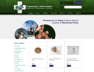 ecosports.com.au screenshot