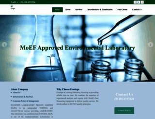 ecostepslab.com screenshot