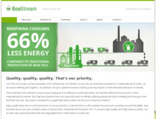 ecostream.fi screenshot
