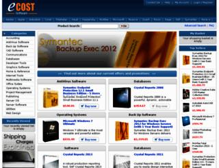 ecostsoftware.com screenshot